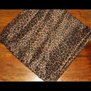 Set of 2 Croscill Cheetah Print Curtains 10 ft